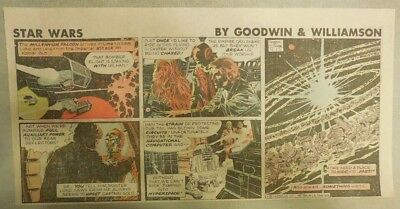Star Wars Sunday Page by Al Williamson from 11/22/1981 Third Page Size!