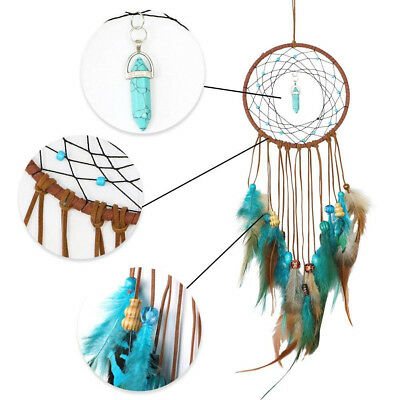 Handmade Dream Catcher Feathers Decoration Car Wall Hanging Room Home Decor Gift