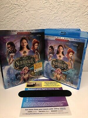 The Nutcracker and the Four Realms Blu Ray + Digital HD Only NO DVD INCLUDED!!