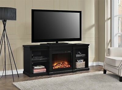 Electric Fireplace Tv Stand Media Console 70 Inch Entertainment