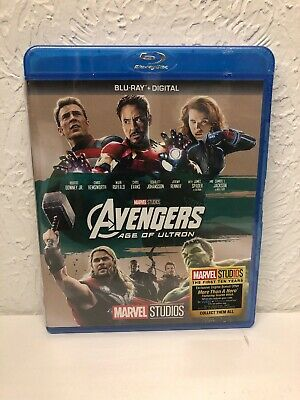 Avengers Age of Ultron Blu Ray + Digital HD BRAND NEW!!