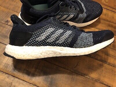 ADIDAS ULTRABOOST ST Parley AC7586 Men's US Dark Bluegreen 10.5 D with box!