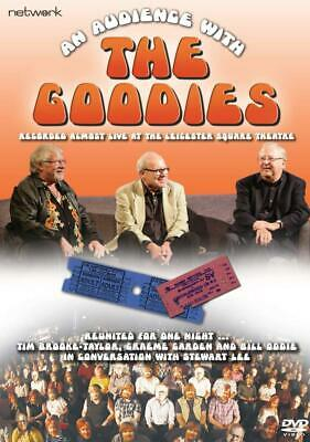 THE GOODIES: AN AUDIENCE WITH THE GOODIES - Live in 2018 - NEW Rg2 Eu DVD not US
