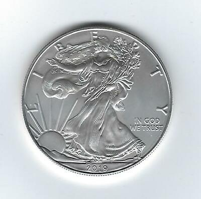 US 2019 - 1 oz .999 SILVER AMERICAN EAGLE - UNCIRCULATED