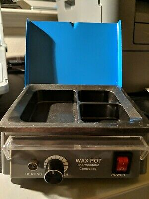 Dental Lab Equipment 3 Well Analog Wax Melting Dipping Pot Heater Melter NEW USA