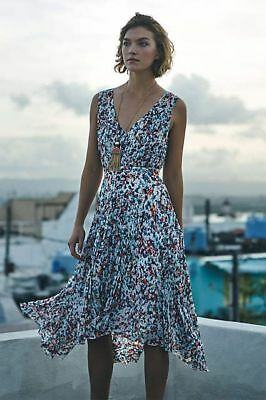 f1958ad1a07c Anthropologie Morgan Pleated Dress by PLENTY BY TRACY REESE Sz. 8 New NWT  $168