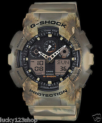 GA-100MM-5A Brown G-shock Casio Men's  Watches 200m Resin Band Brand-New Limited