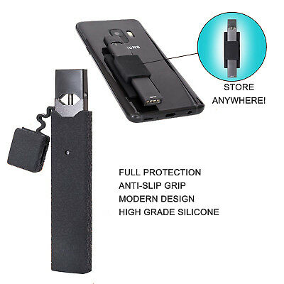 Case and Holder for 0JUUL, Anti-Slip Silicone Skin Cover and holder fits 0JUUL
