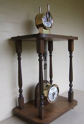 SHIPS TELEGRAPH BY- BEGG & GREIG PTY.LTD. SYDNEY. Mounted on solid oak timber.