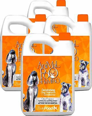 Pretty Pooch 20L Fox Poo Dog Shampoo Conditioner Deodoriser Smelly Itchy Dogs