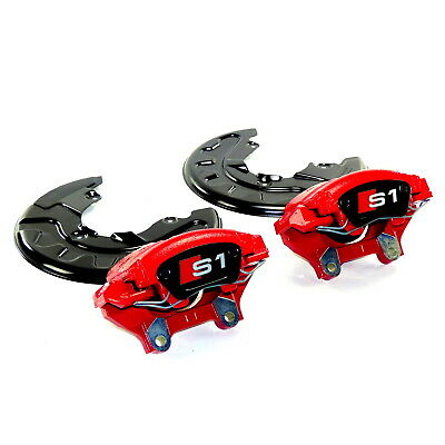 brake calipers pair front red 310mm Audi A1 S1 VW Polo 6R 6C GTI big brake kit