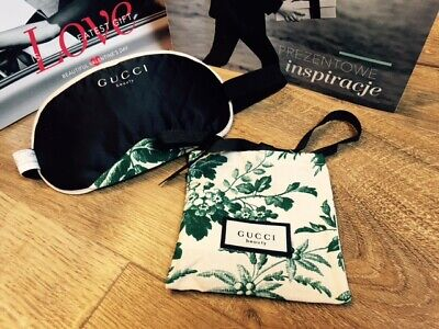 Gucci Bloom Sleeping Eye Mask Travel with Pouch Bag VIP GIFT