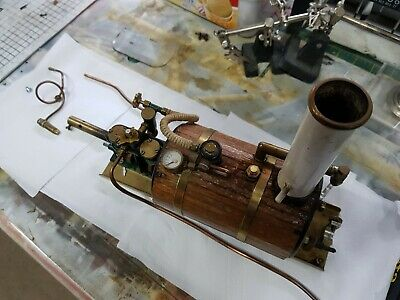 Cheddar Models Puffin Twin Cylinder Horizontal Steam Plant
