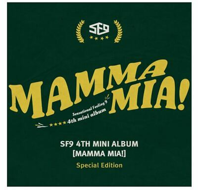 "K-POP SF9 4th Mini Album ""MAMMA MIA"" Special Edition - 1 Photobook + 1 CD"
