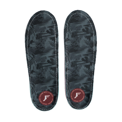 Footprint Gamechanger Mouldable Custom Orthotic High Profile Black Camo Insoles