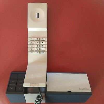 Bang & Olufsen Beocom Phone & Wall base 1991 Danish Design