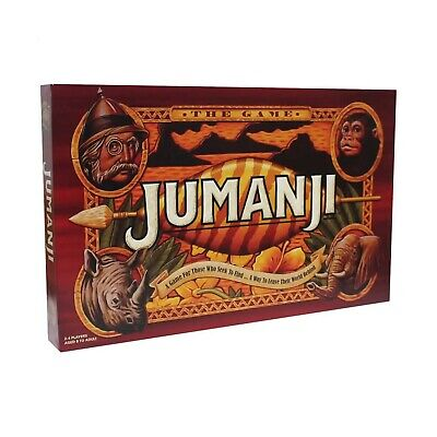 Jumanji Board Game Toy Animal Escape Family Board Game Brand New BOXED