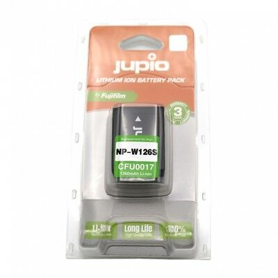 Jupio NP-W126s Battery for Fuji 126 S x series camera fujifilm 1260mAh