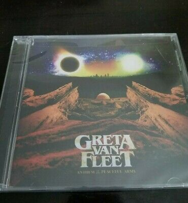 Greta Van Fleet - Anthem Of The Peaceful Army [Brand New Sealed/unopened CD]
