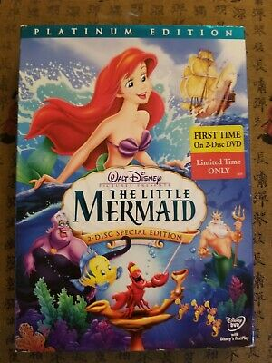 Walt Disney's The Little Mermaid (DVD, 2006, 2-Disc Set, Platinum Edition)