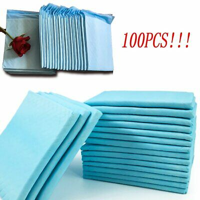 100Count Pets Training Pads Pet Puppy Dog Pad Absorb Potty No Leak Pee HOT!!!
