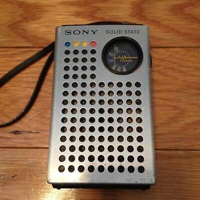 Vintage Sony TR-4100  AM Solid State Radio