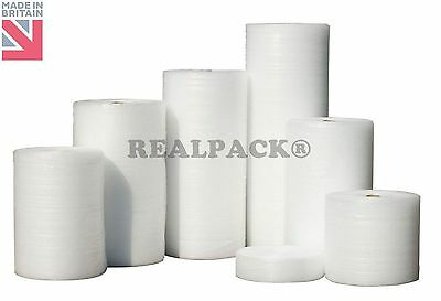 REALPACK®  Bubble Wrap 300mm x 100m Small Bubble NEW QUALITY new FREE DELIVERY