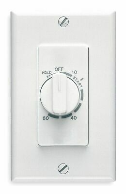 Broan 60 Minute Wall Timer, White, SPST - 59W