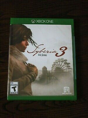 Brand New Syberia 3 Game (Microsoft Xbox One, 2017) SEALED Free Shipping