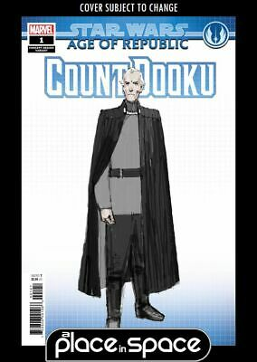 Star Wars: Age Of Republic: Count Dooku #1B - Concept Variant (Wk07)