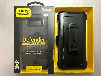 OtterBox Defender Series Case for Samsung Galaxy S8 - With Holster - Black