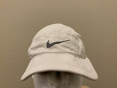 1c4a41d362d6c NIKE AW84 DRI-FIT White Running Adjustable 5 Panel Hat -  13.99 ...