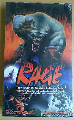 Rage TCG Booster box limited / second edition (Mint, Sealed)