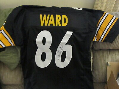 562aec6a765 Hines Ward Signed Autographed Pittsburgh Steelers White Jersey TSE COA 1