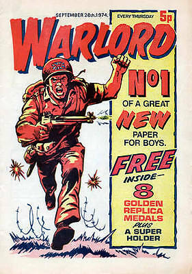 Warlord #1-627 + Extras On Dvd. Full Run. 1974-1986. British War Comics. Battle.