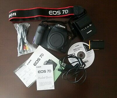 Used Canon EOS 7D 18.0MP Digital SLR Camera - Black (Body Only)
