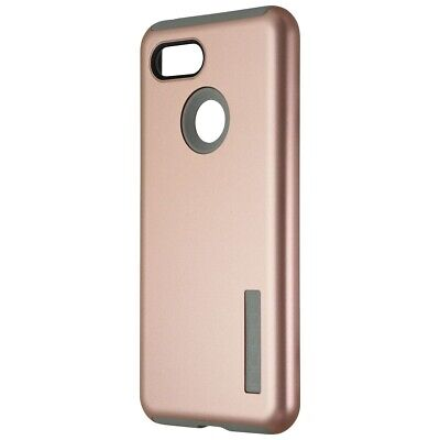 Incipio DualPro Series Dual Layer Case for Google Pixel 3 - Rose Gold / Gray