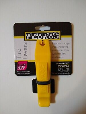 Pedros Tire Levers - Yellow - 2 Pack - Remove tires quicker