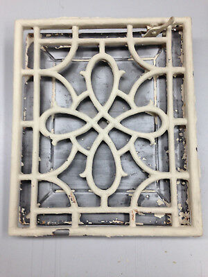 Antique / Vintage Cast Iron Heat Grate Floor Register Vent