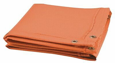 Steiner Woven Fiberglass Welding Blanket, Height: 6 ft., Width: 4 ft., Orange -