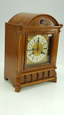 German R.M.S 8-Day Walnut Striking Bracket Clock