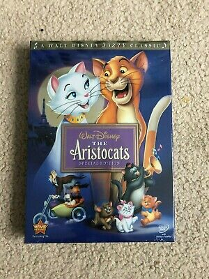The Aristocats (DVD, 2008, Special Edition) Free Shipping!