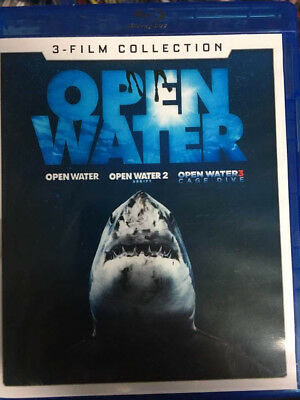 Open Water 3 Film Collection Blu-Ray No DVD/Digital/Slip Like New Combine SHIP