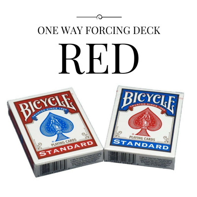 One Way Force Deck - Bicycle (Red)
