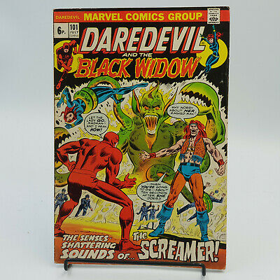Daredevil (Vol.1) #101 Marvel Comics Steve Gerber VF-