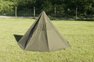 Poncho from the equipment of the Polish army - Size 3, two poncho is one tent