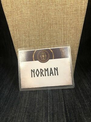 The Librarians Screen Used Nametag And Glass Mug From Ep 303 2 Of 3 XXL