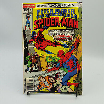The Spectacular Spider-Man #1 Bronze Age Marvel Comics F/VF