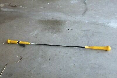 "Donik Sports Hit-N-Stik Stick Yellow 54"" Baseball Hitting Swing Trainer Nice"