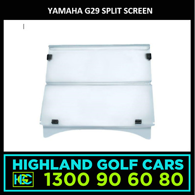 Yamaha G29 Golf Cart Split Screen